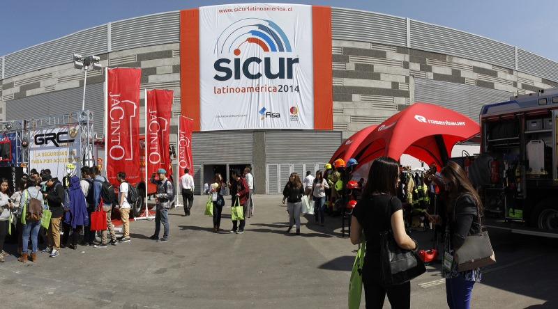SICUR Chile 2014 fair