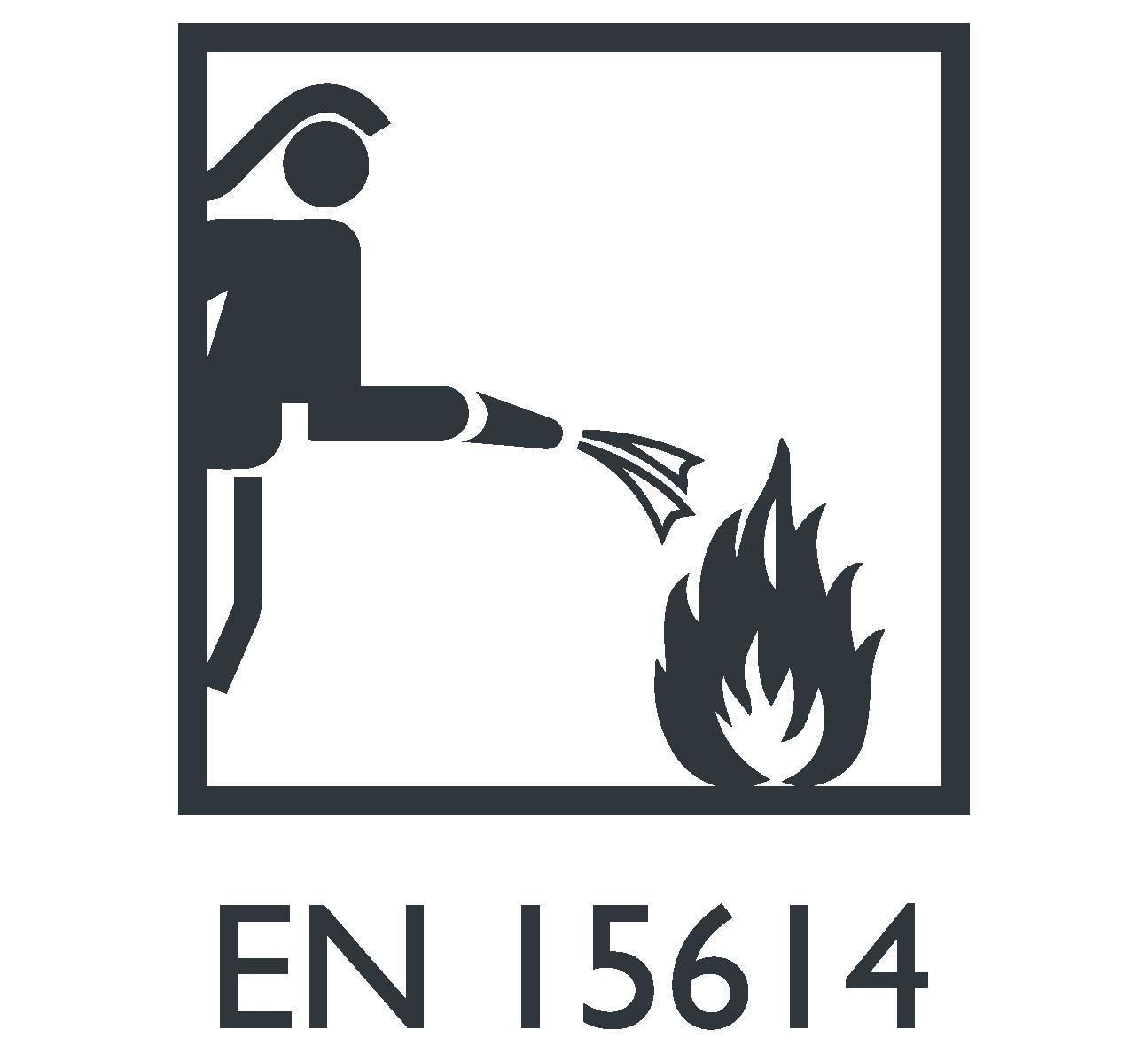EN 15614 Roupa de proteção para bombeiros