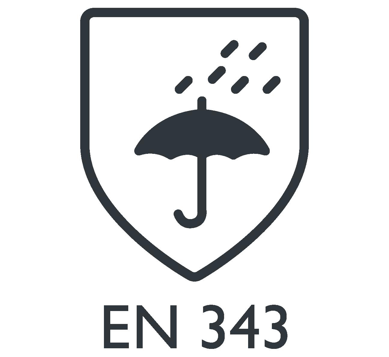 EN 343 roupa de proteção contra chuva Marina Textil