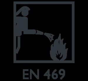EN 469 Vêtements de protection pour lutter contre l'incendie Marina Textil