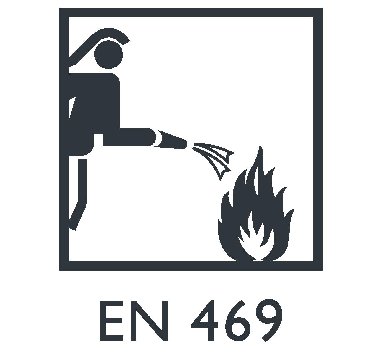 EN 469 Roupa de proteção para combate a incêndios Marina Textil