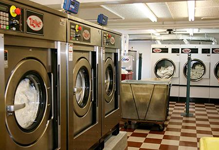 Washing of protective fabrics