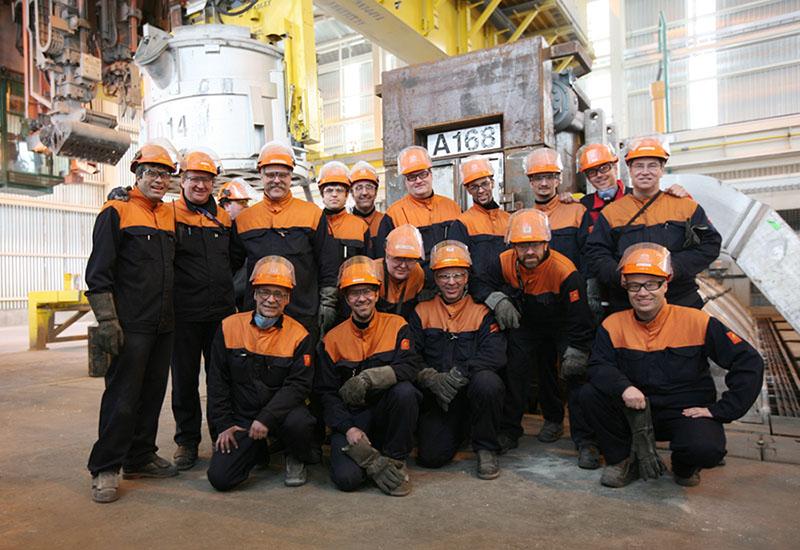 EN 11612 ropa de trabajo para fundición de aluminio