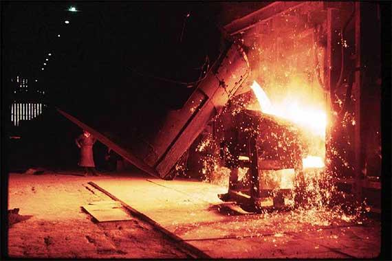 en iso 9185 molten metal splashes