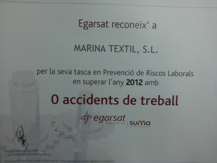 Safety production process award