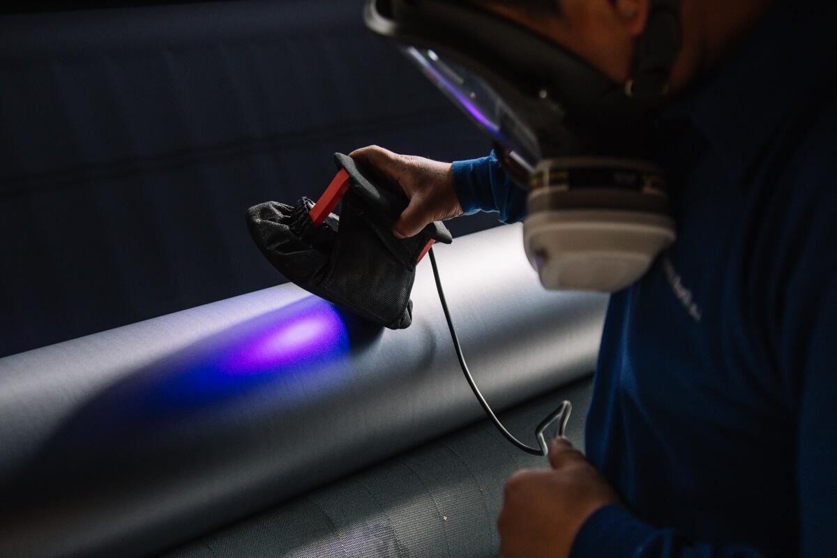 tecido técnico para produção de laminação Marina Textil