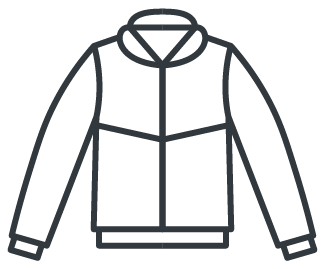 Jacket for PPE (personal protective equipment)